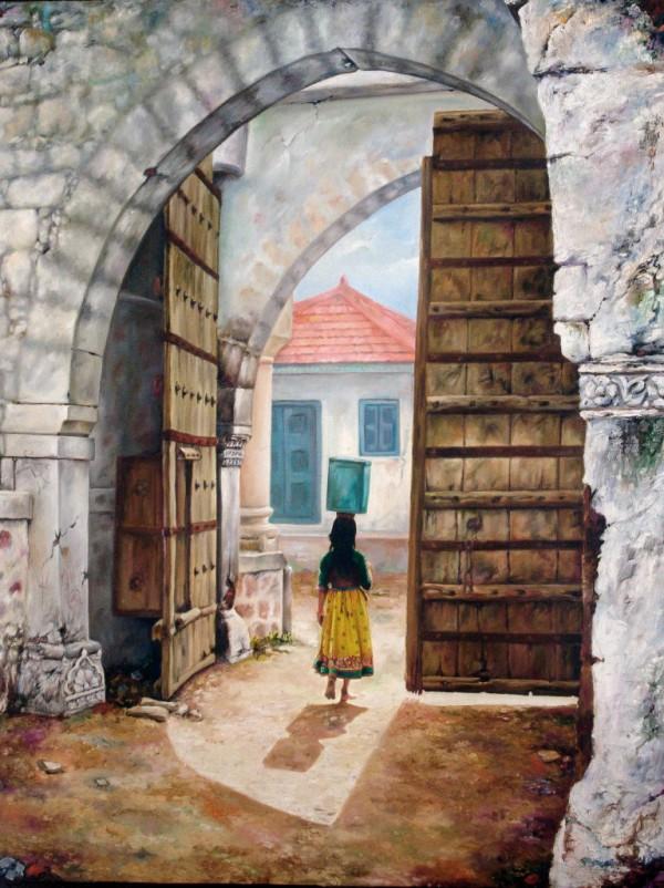 Painting - Village (10)