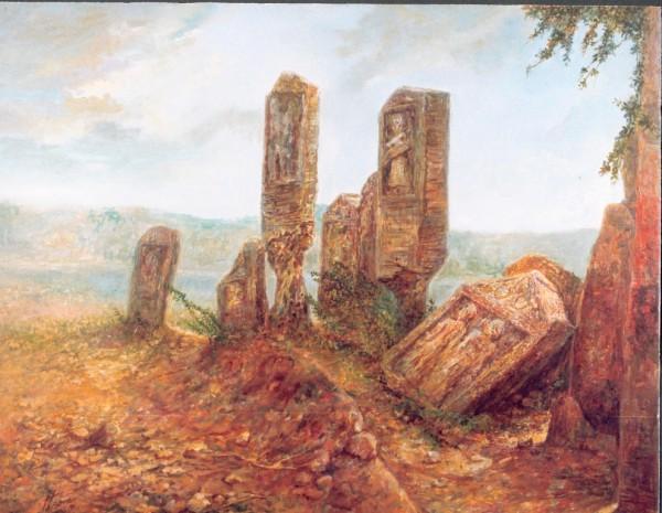Painting - Village (3)