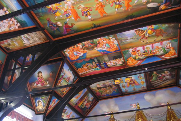 Temple Wall & Ceiling Painting