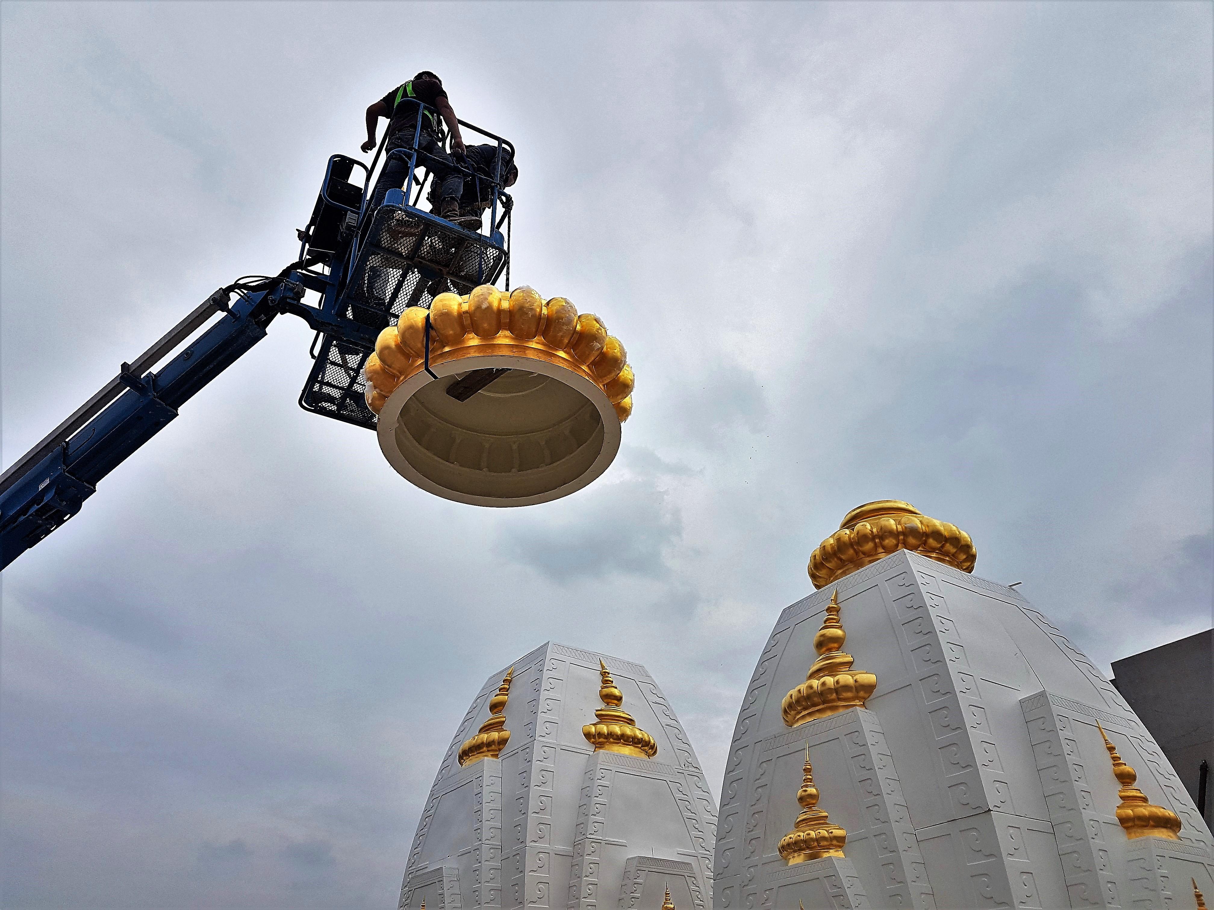 fibershikhar radha krishna temple texas usa